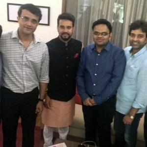 Meet new BCCI president Ganguly's team