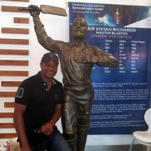 The legend who inspired Lara to take up cricket