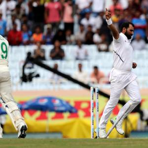 PHOTOS: India two wickets away from series sweep