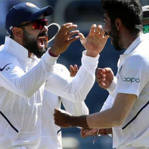 Bumrah third Indian to claim Test hat-trick