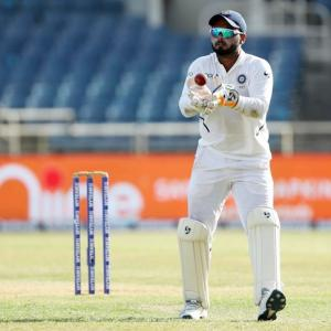 Pant fastest Indian 'keeper to 50 Test dismissals