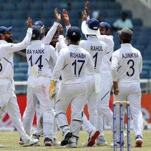 PICS: India vs West Indies, 2nd Test, Day 4
