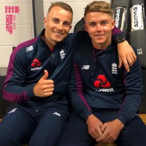 Curran brothers Tom, Sam keen to face-off in IPL