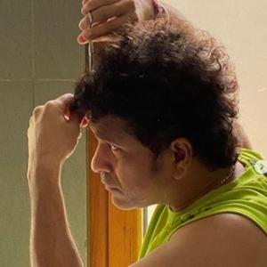 Covid-19 Diaries: Sachin Tendulkar cuts his own hair