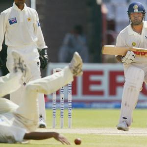 When Saqlain sledged Sachin for first and last time