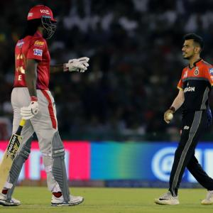 Gayle says will block 'annoying' Chahal