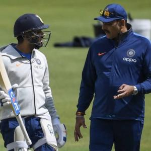 Shastri headlines online interaction of BCCI coaches