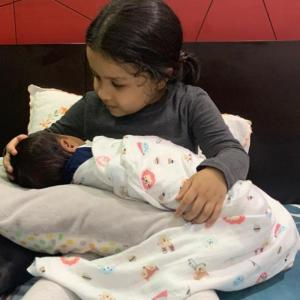 Whose baby is it, Sakshi?