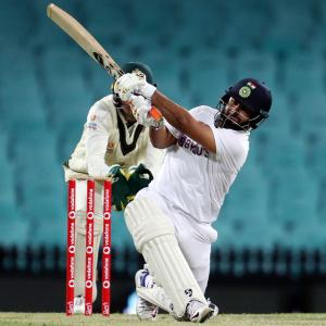 Century in practice game big confidence booster: Pant