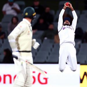 India vs Aus, Pink-ball Test: Images from Day 2