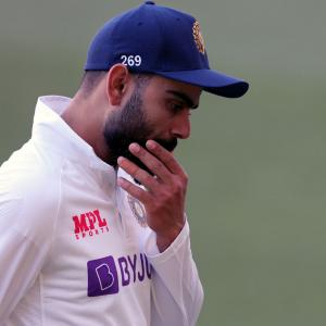 Kohli slams batsmen after after Adelaide humiliation