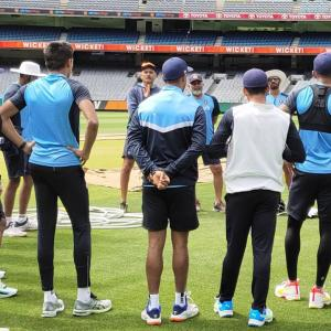 MCG Test: Team India hits the nets