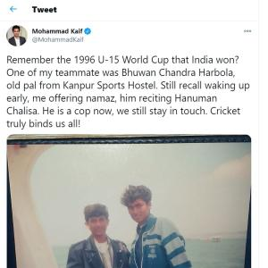 Kaif's heartwarming tweet of brotherhood wins Twitter