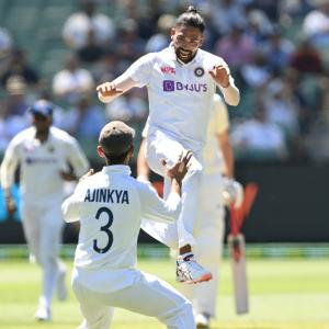 PICS: Australia vs India Second Test, Day 1