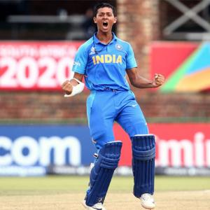 U-19 WC PHOTOS: India crush Pakistan to enter final
