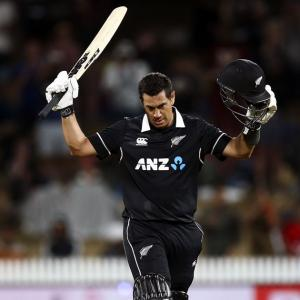 PHOTOS: New Zealand stun India after Taylor-cut ton