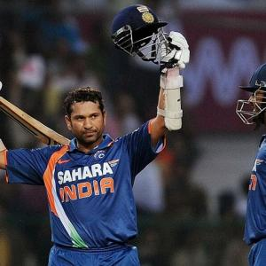 On this day Tendulkar scored first ever 200 in ODIs