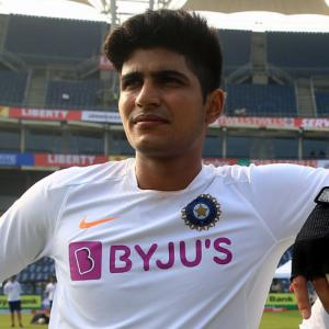 Ranji: Shubman gets dismissal reversed after tiff