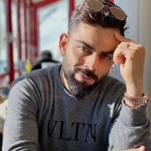 Kohli's 'decade challenge' with throwback pics