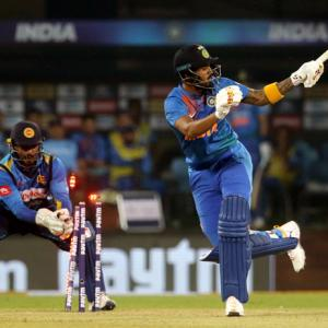 2nd T20I: India outclass Sri Lanka to go 1-0 up