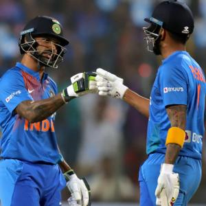 PIX: Dominant India rout SL to clinch T20 series 2-0
