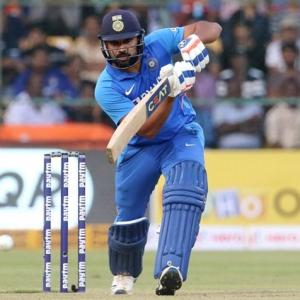 Rohit third fastest to 9000 runs in ODIs