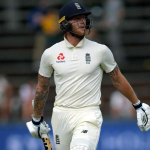 Stokes in foul-mouthed altercation with spectator