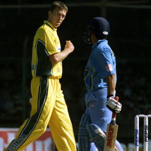 'That was very unusual': When Sachin sledged McGrath