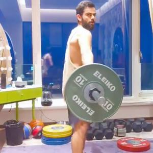 SEE: The one exercise Virat Kohli loves most!