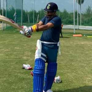 SEE: Raina, Pant train together in nets amid COVID-19