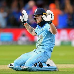 WC Final: Stokes took 'cigarette break' to calm nerves