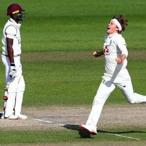 PHOTOS: England demolish West Indies to level series