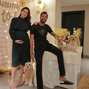 Natasa, Hardik share baby shower pix