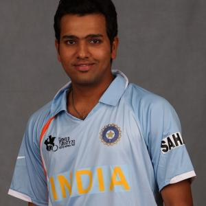 June 23, 2007: Rohit makes his debut and scores...