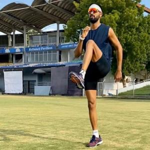 Krunal Pandya resumes outdoor training