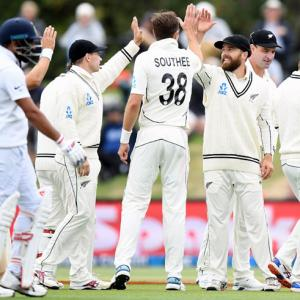 PHOTOS: New Zealand rout India to complete 2-0 sweep