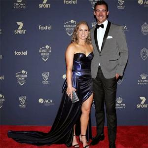 Starc cuts short SA tour to watch wife Healy in final