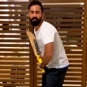 Dinesh Karthik's tips to coping with self-isolation