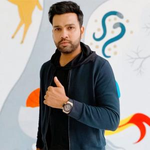 Rohit Sharma donates Rs 80 lakh to fight coronavirus