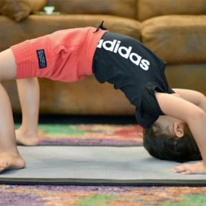 Learn yoga from Suresh Raina's cute daughter