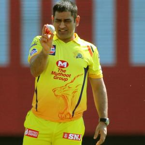 'Definitely not' my last game for CSK, says Dhoni