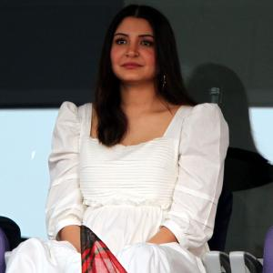 PIX: Anushka is a vision in white