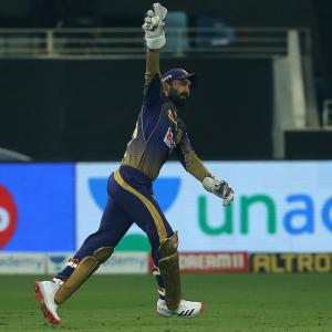 The Birdman's Catch of IPL 2020