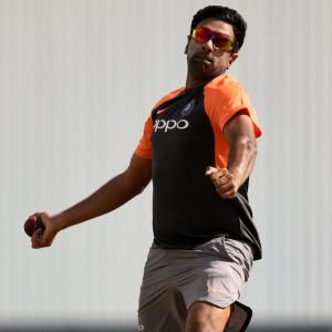 SEE: Ashwin gets cracking in the nets
