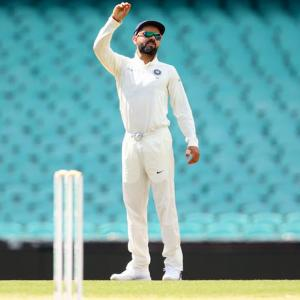 Kohli questions ICC over change of WTC points system
