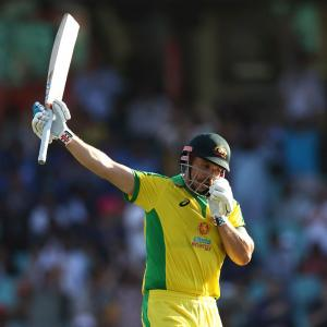 PIX, 1st ODI: Dominant Australia rout India by 66 runs