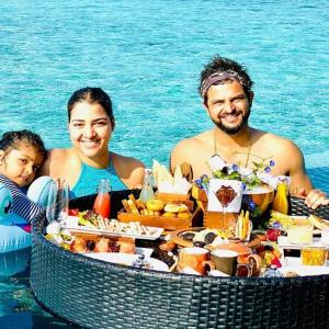 PIX: What is Raina doing in the Maldives?