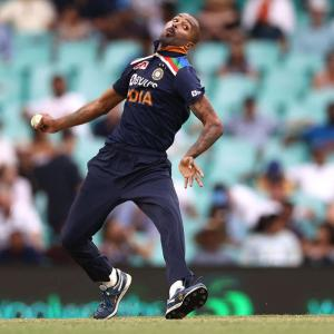 Hardik Pandya bowls for first time in over a year
