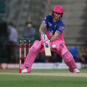 Stokes keeps Rajasthan in intriguing IPL playoffs race