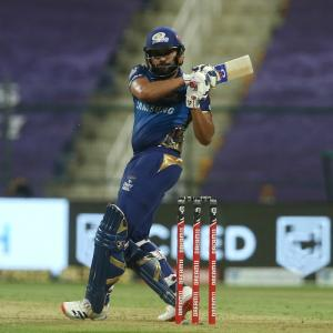 PICS: Rohit leads Mumbai Indians to big win over Kings